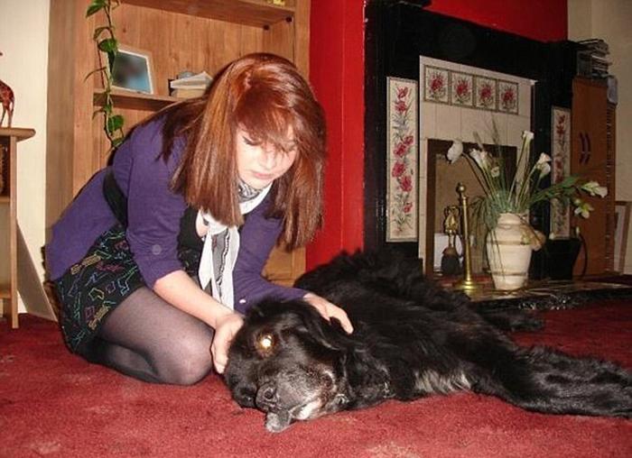 Татуировка должна была стать сентиментальным напоминанием о любимой собаке по кличке Макс.