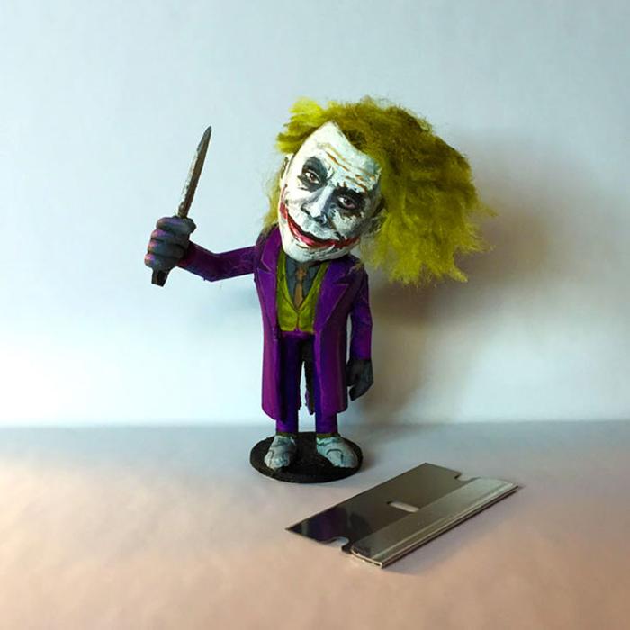 Хит Леджер в роли Джокера. Автор: Steve Casino.