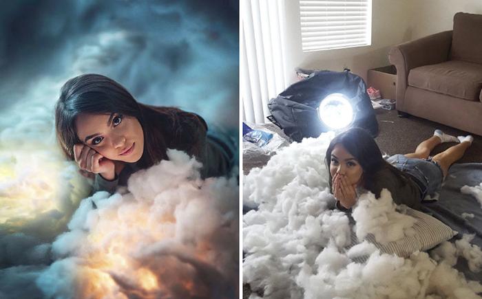 Ни одна подушка не пострадала.  Instagram @calop_.