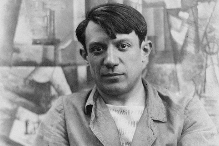 Молодой Пабло Пикассо. Фото 1904 года.