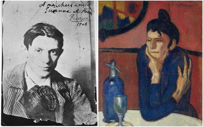 Молодой Пикассо в Париже.