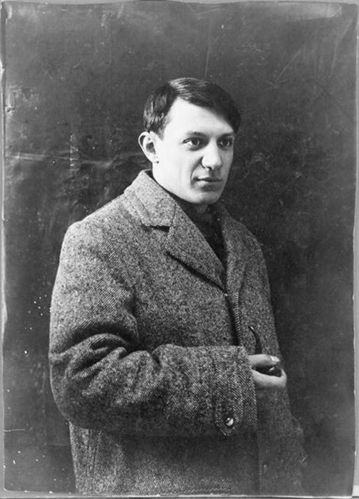 Портрет Пабло Пикассо.