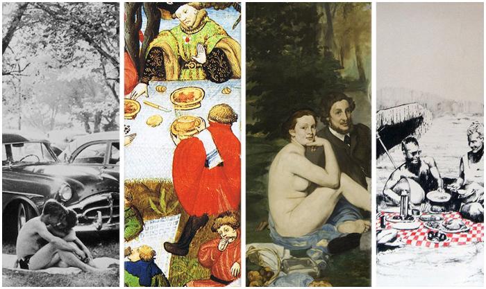 История пикника в искусстве.