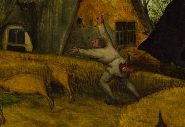 Секретный смысл картины Петера Брейгеля: более ста зашифрованных пословиц Pieter-bruegel-11