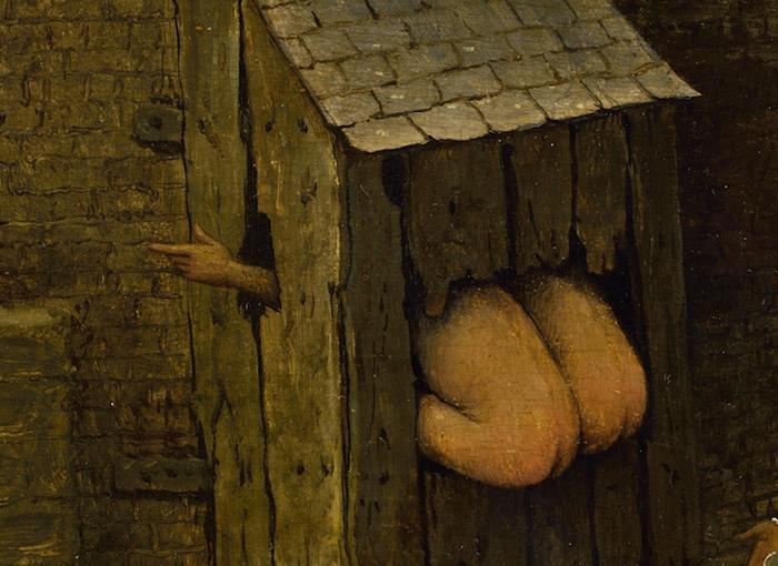 Секретный смысл картины Петера Брейгеля: более ста зашифрованных пословиц Pieter-bruegel-14