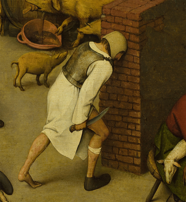 Секретный смысл картины Петера Брейгеля: более ста зашифрованных пословиц Pieter-bruegel-25