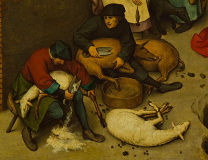 Секретный смысл картины Петера Брейгеля: более ста зашифрованных пословиц Pieter-bruegel-26