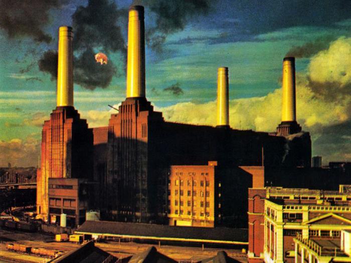 Студийный альбом Pink Floyd - Animals.