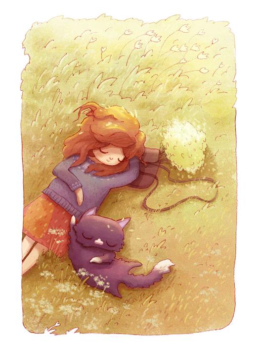 Иллюстрации Алены Ткач.