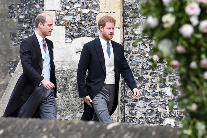 Принц Уильям и принц Гарри.