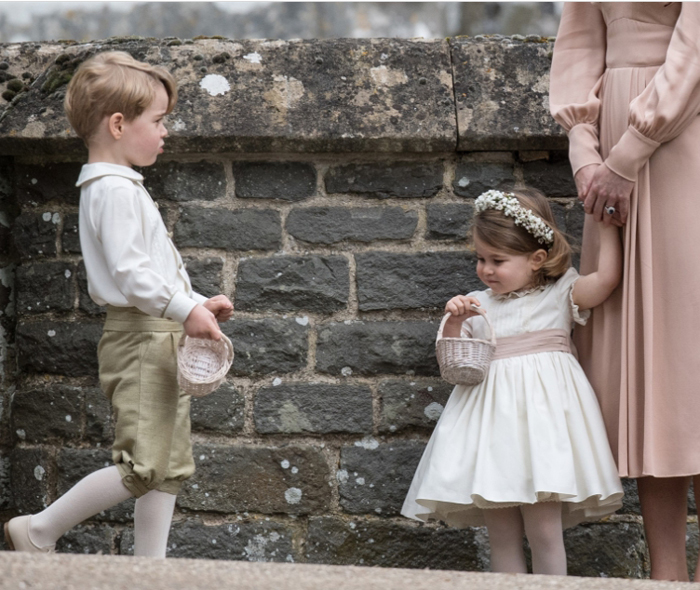 Принц Джордж и принцесса Шарлотта.