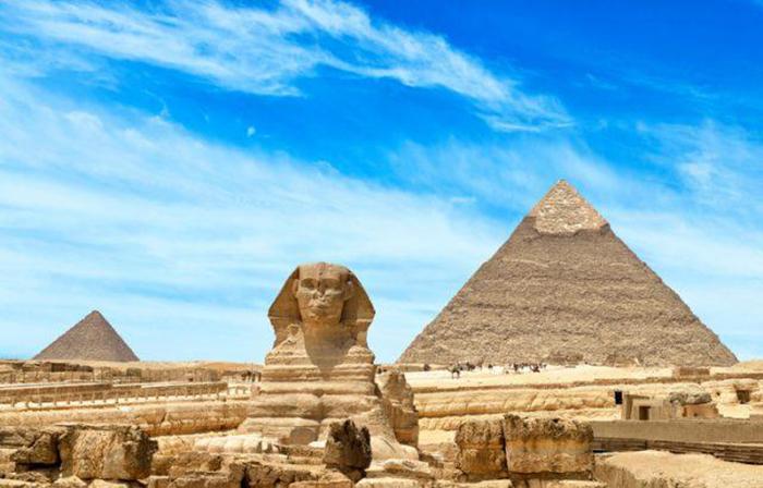 Египетские гробницы.