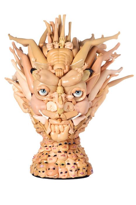 Скульптуры Фрейи Джоббинс.