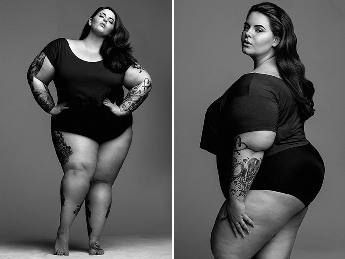 Модель plus-sized в MiLK Modeling Agency.