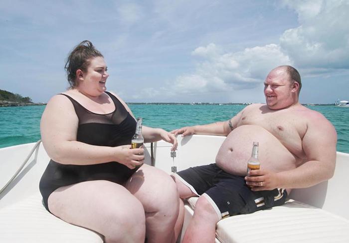 Эми и ее муж Адам рассматривают эту поездку как свой второй медовый месяц.