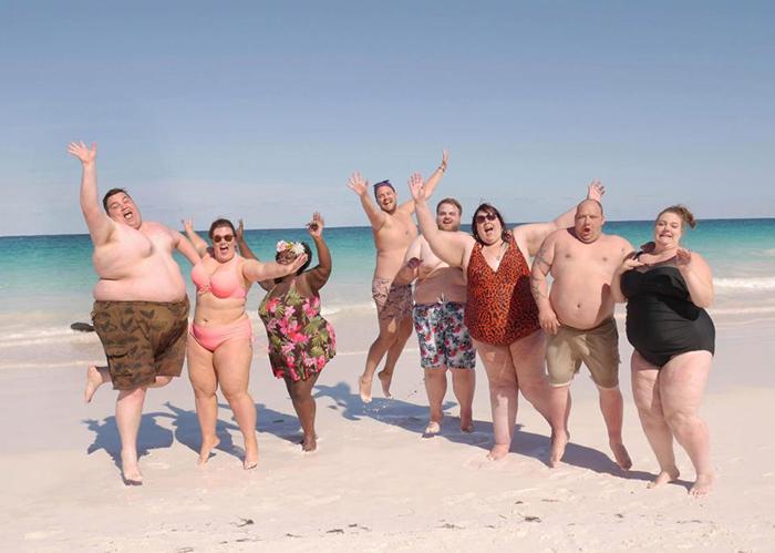 Отель для толстых на Карибских островах.