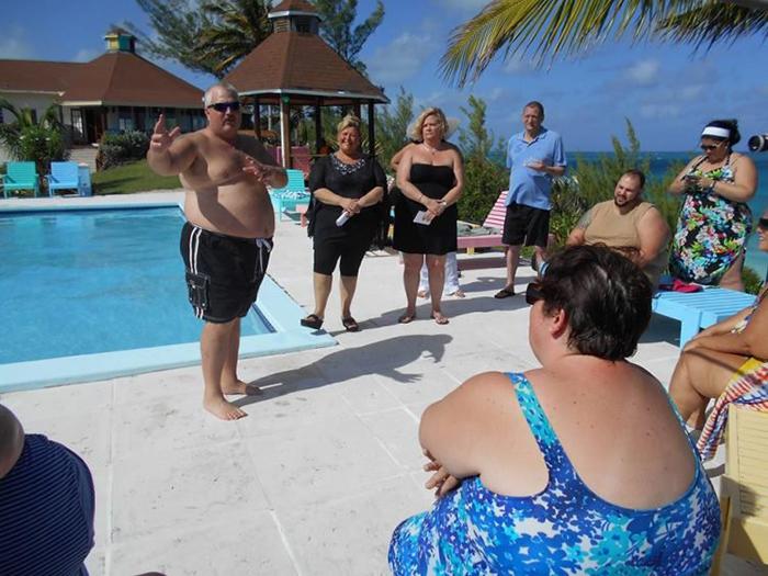 Отель, где толстые люди могут отдыхать без оглядки на мнение окружающих.