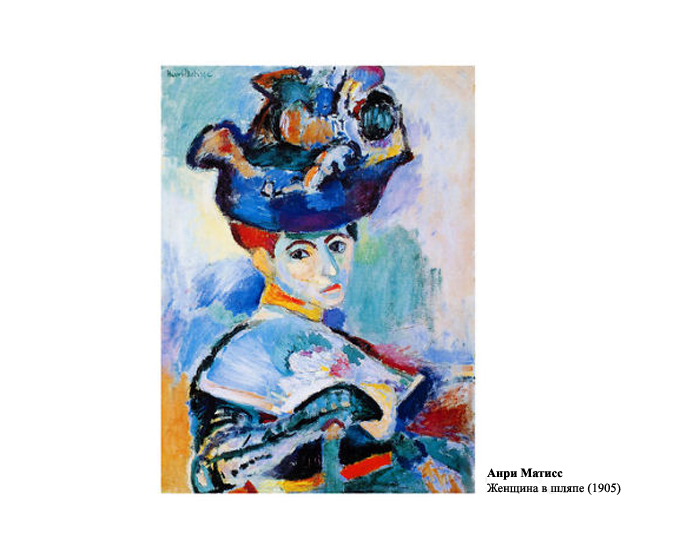 Анри Матисс. Женщина в шляпе (1905).