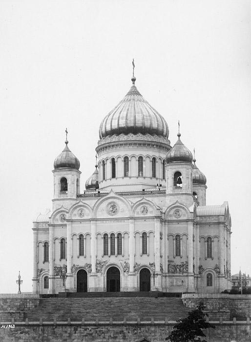 Храм в 1902 году.