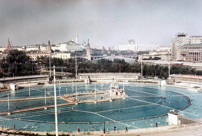 Самый большой бассейн в СССР.