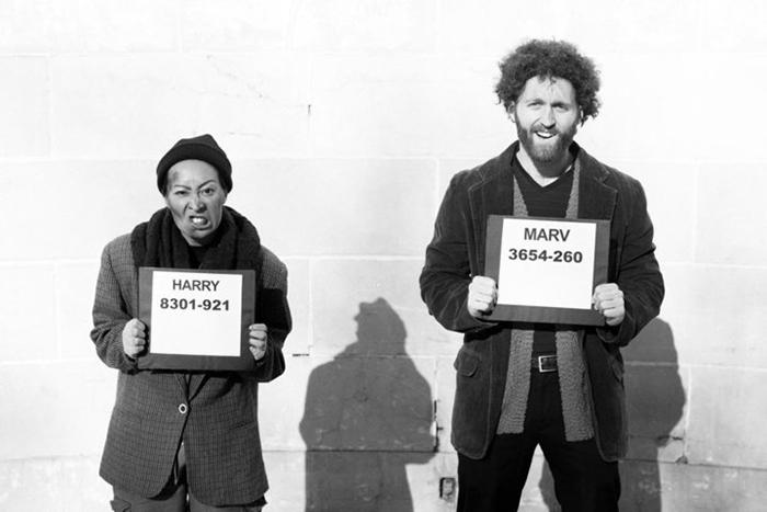 Бандиты Марв и Гарри из фильма *Один дома.*