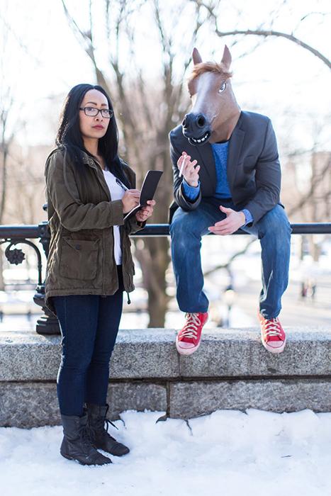 Диана Нгуен и Конь БоДжек.