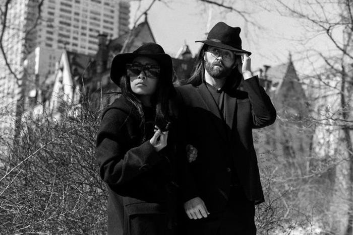 Йоко Оно и Джон Леннон.