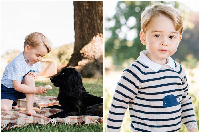 Принцу Джорджу исполнилось три года.