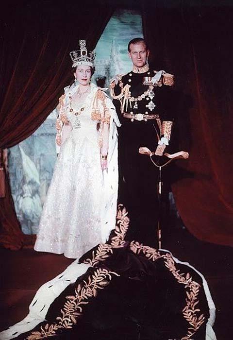 Королева Елизавета II и герцог Эдинбургский Филипп.