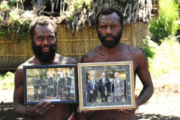 Необычное верование жителей острова в Вануату.