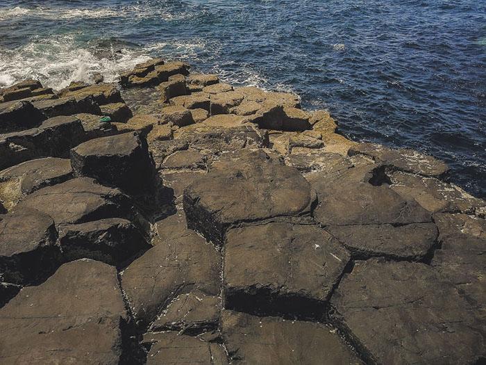 Базальтовые колонны острова Стаффа.