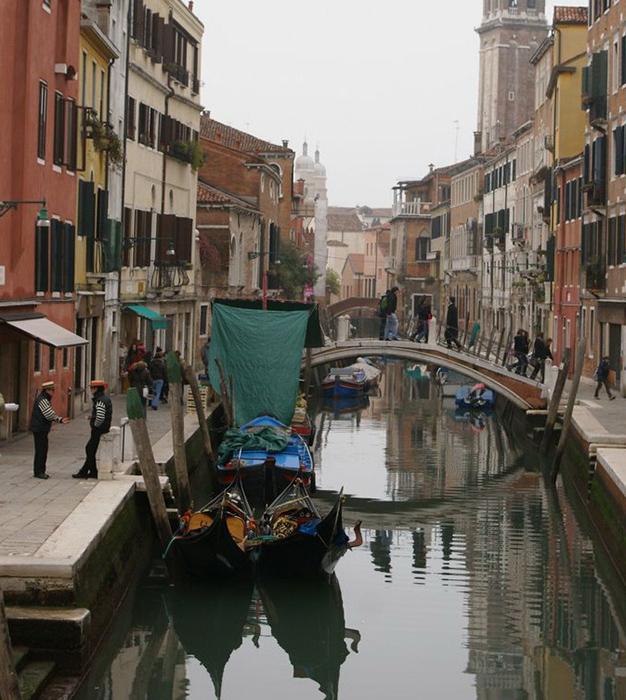 Мост в Венеции.