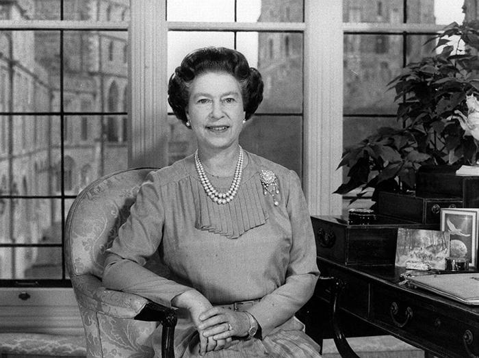 1983 год - Королева поздравляет народ Великобритании с Рождеством.