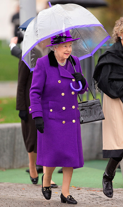 Пурпурные оттенки.