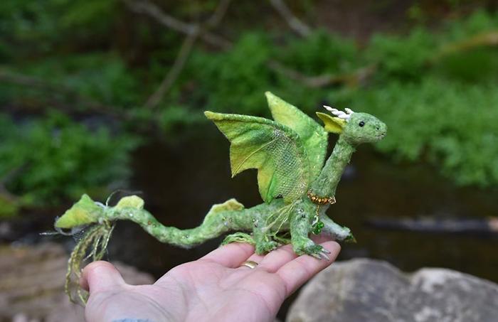 Маленький дракон.