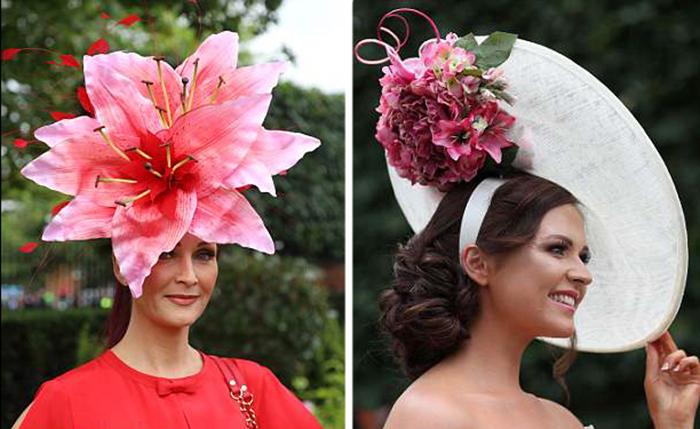 Цветочные мотивы! Цветы были в этом году чуть ли не на каждой второй шляпке.