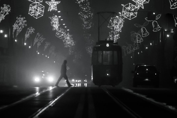 Туманное Рождество. Автор фото: Radu Mihai Iani.
