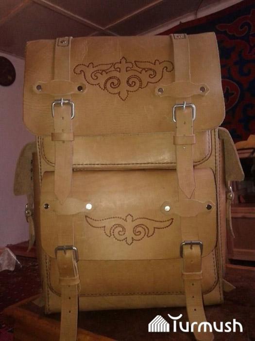 Кожаные сумки ручной работы.