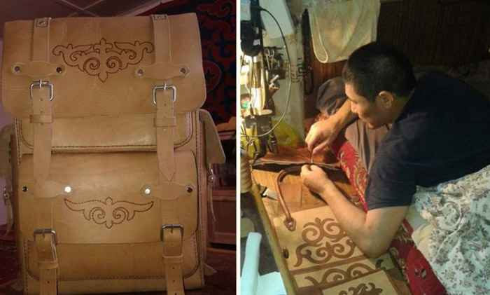 Жена бросила мужа-инвалида с двумя детьми, а его спасло трудолюбие и сумки из кожи