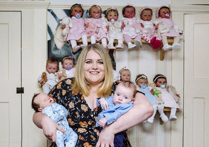 Виктория в шутку называет себя мамой 41 ребенка.
