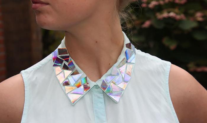 Новый воротник - новая блузка!