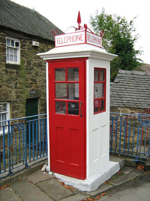 Первая телефонная будка К1.