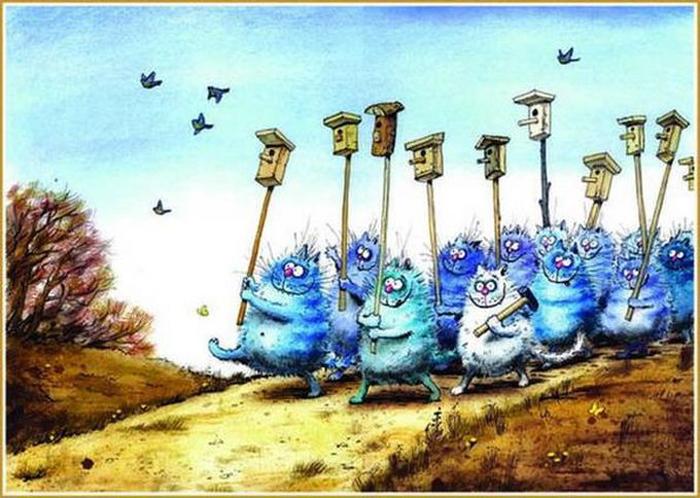 Весенний марш. Автор: Рина Зенюк.