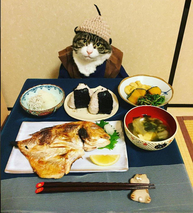 Типичная японская еда.  Instagram rinne172.