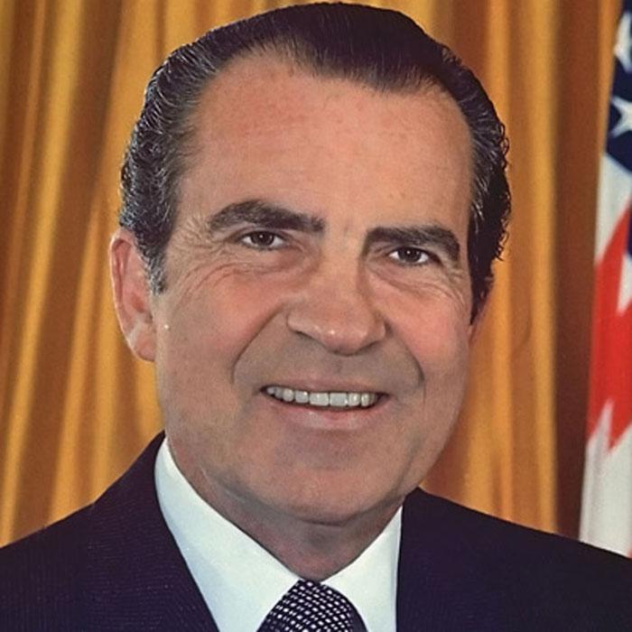 37-й Президент США Ричард Никсон.