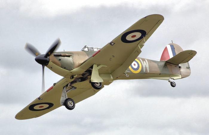 Самолет, на котором Роальд Даль разбился в Ливии.