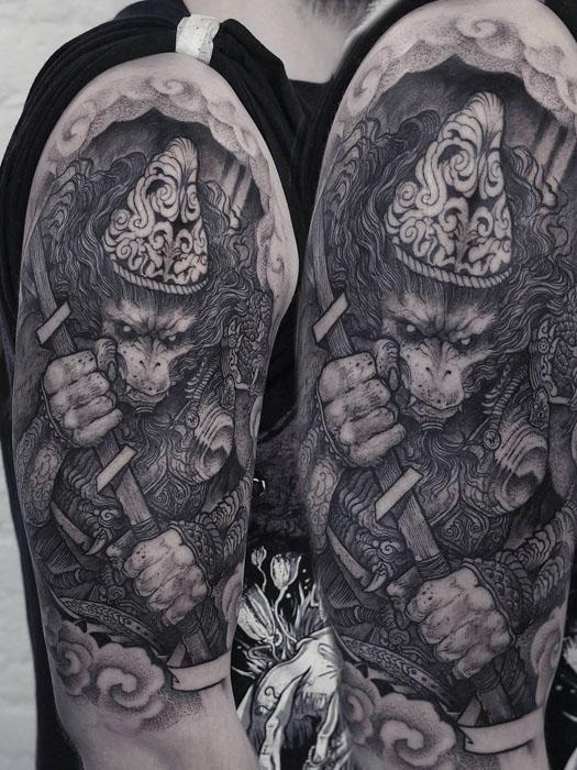 Sun Wu-kong.  Автор: Robert Borbas.
