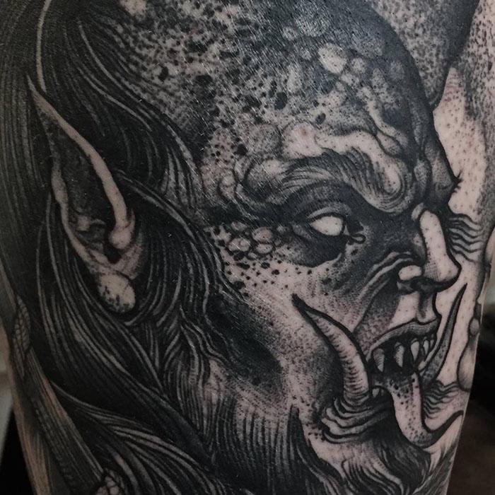 Демон.  Автор: Robert Borbas.
