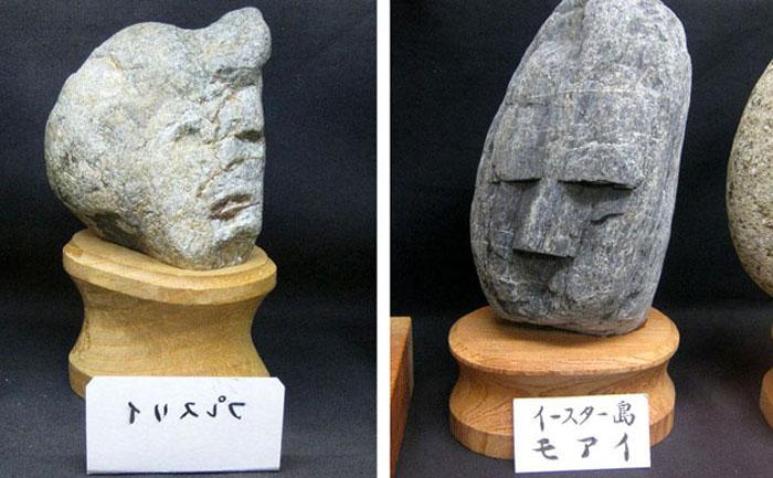 Антропоморфные камни.