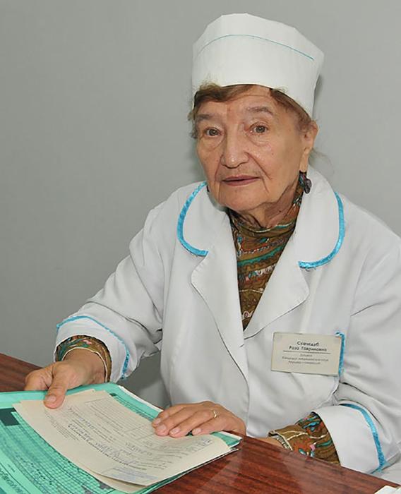 Роза Гавриловна Скачедуб.